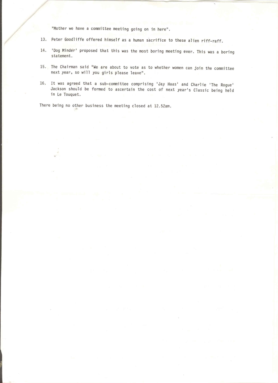 Minutes 1991 2